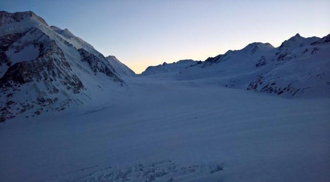 4 Tage Schneeschuh-Hochtour Jungfrau – Aletsch mit Äbeni Flue 3962 m als Höhepunkt