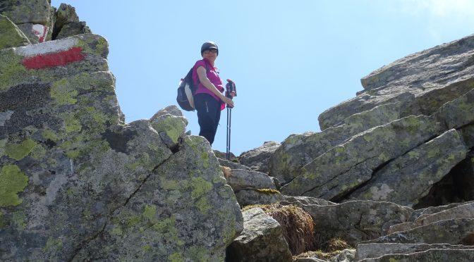 Taufenscharte (2230 m) und Mutspitze (2291 m)