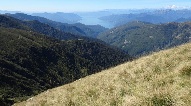 Monte Tamaro – Monte Lema: die klassische Gipfelwanderung im Tessin