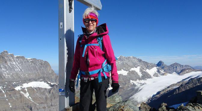 Gasteretal 1537 m – Lötschepass 2689 m – Hockenhorn 3292 m – Lauchernalp 1969 m in 2 Tagen