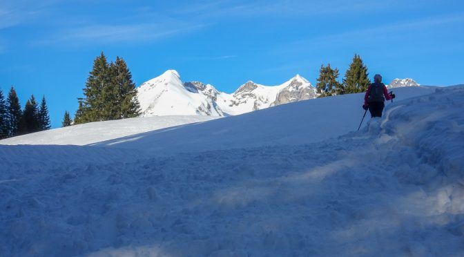 Gamperfin – Silvester-Schneeschuhrunde 2017
