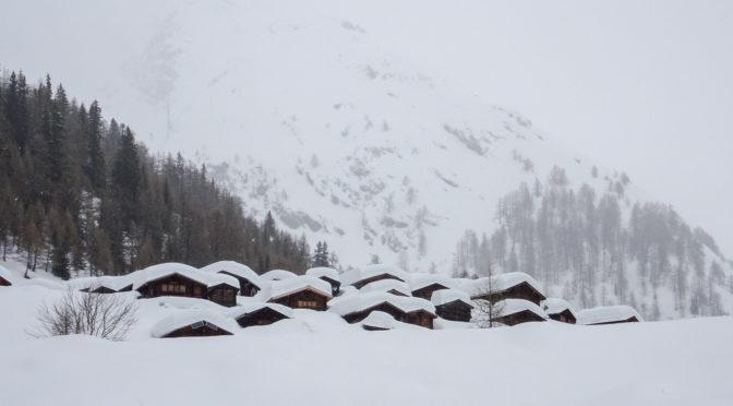 Magisches Lötschental 1|2 – Winterwanderung zur Fafleralp