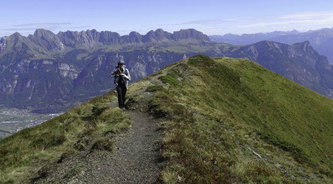 Guscha 2140 m – eine überraschend schöne Gratwanderung