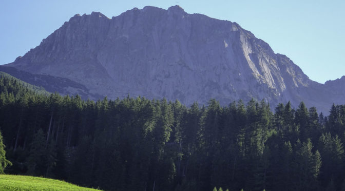 Sarner Scharte (2468 m) und Villandersberg (2509 m)