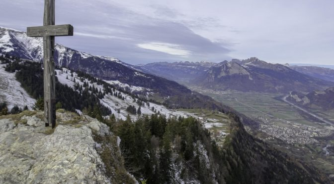Pizalun 1478 m – prächtiger Aussichtspunkt