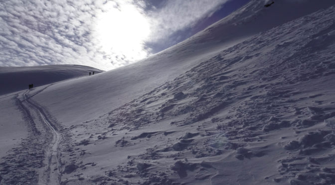 Muttner Horn 2401 m – Spuren ist ein K(r)ampf