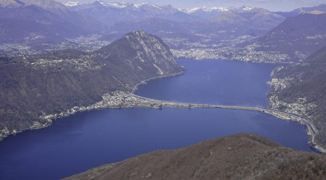 Monte San Giorgio 1096 m – Panoramagipfel über dem Lago di Lugano