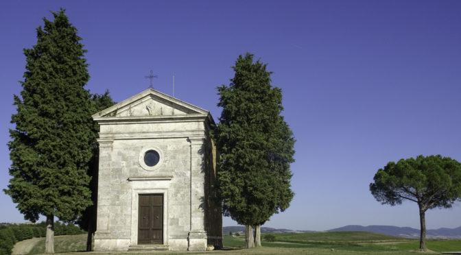 Capella di Vitaleta (Pienza – San Quirico – Pienza)