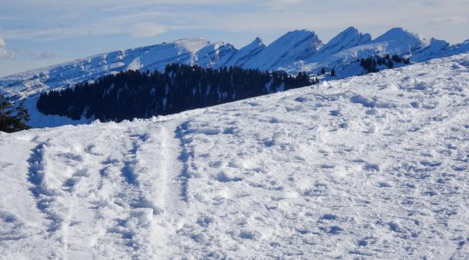 Tanzboden (1443 m) – Winterwanderung im Herbst